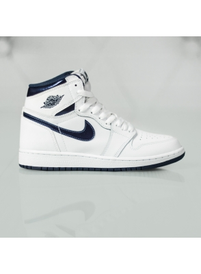 "Air Jordan 1 Retro High OG BG ""Metallic Navy"" 575441-106"