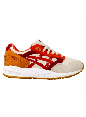 Asics Gel Saga Off White Red H5Q5N-0223