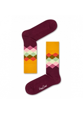 Happy Socks Faded Diamond Sock FAD01-4000