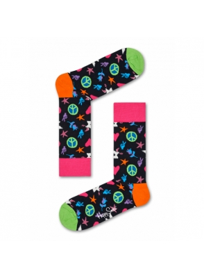 Happy Socks Peace And Love Sock PAL01-9000