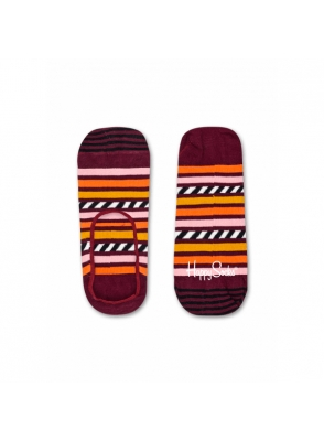 Happy Socks Stripe & Stripe Liner Sock SAS06-4000
