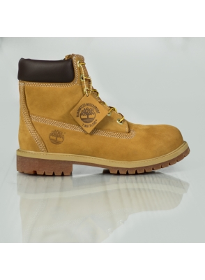 Timberland Junior 6 Premium Wheat Nubuc Yell C 12909