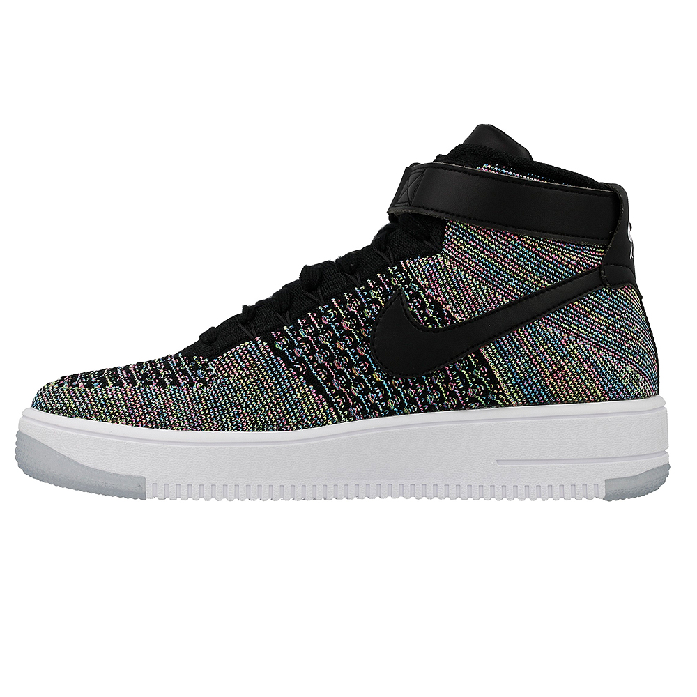 nike air force 1 ultra flyknit mid 817420 601 czarny wielokolorowy. Black Bedroom Furniture Sets. Home Design Ideas