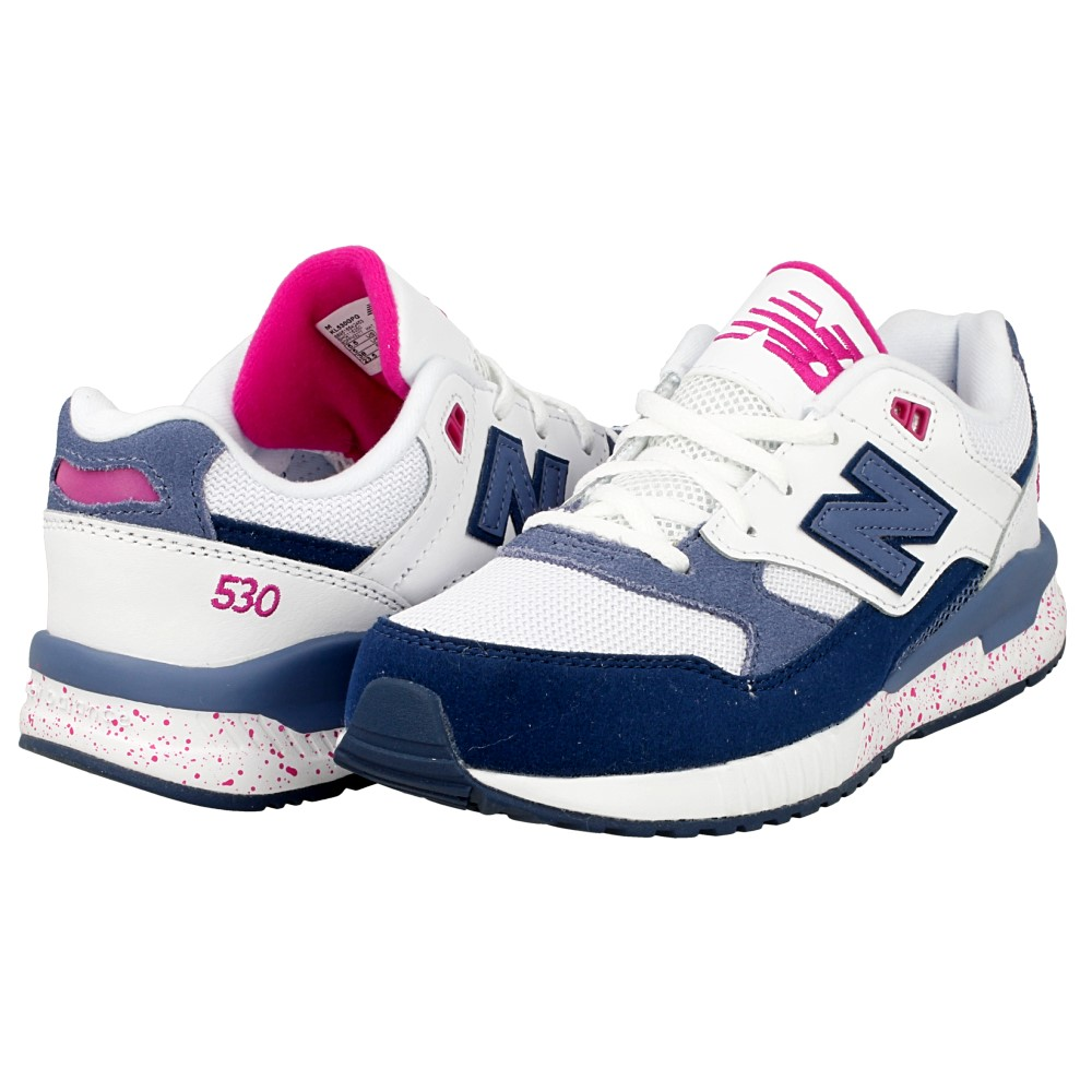 new balance 530 biale