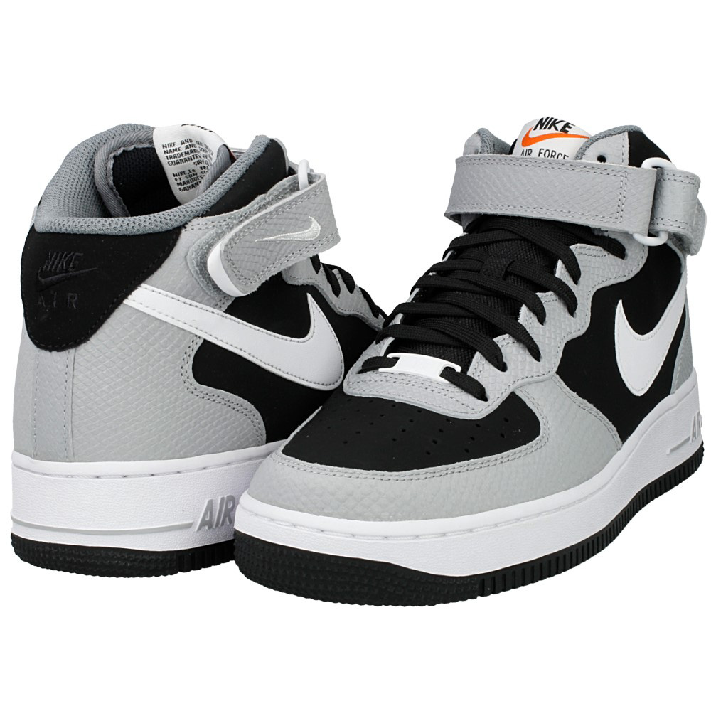 new styles f7414 49a78 nike air force 1 mid czarnebiałe .