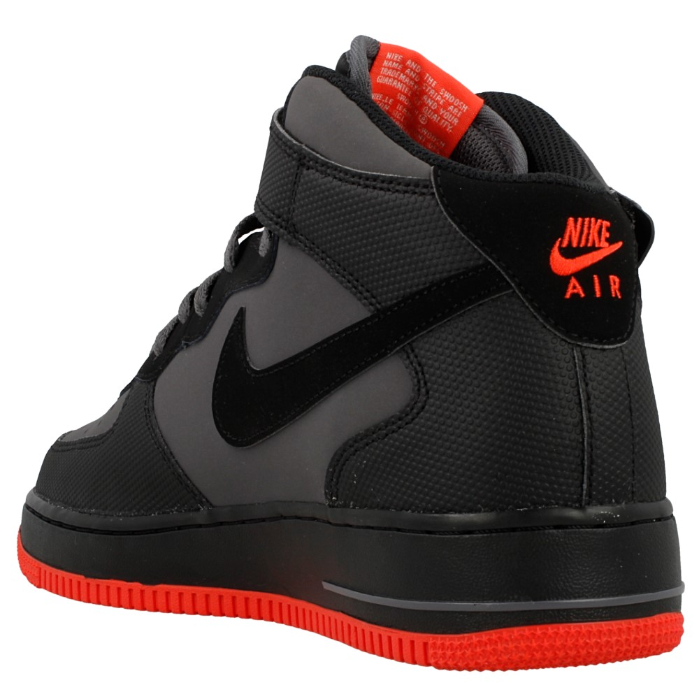 nike air force 1 mid 07 315123 031 czarny szary. Black Bedroom Furniture Sets. Home Design Ideas