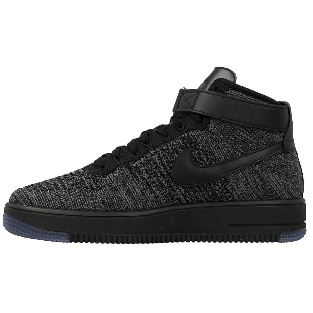 nike air force 1 flyknit czarne