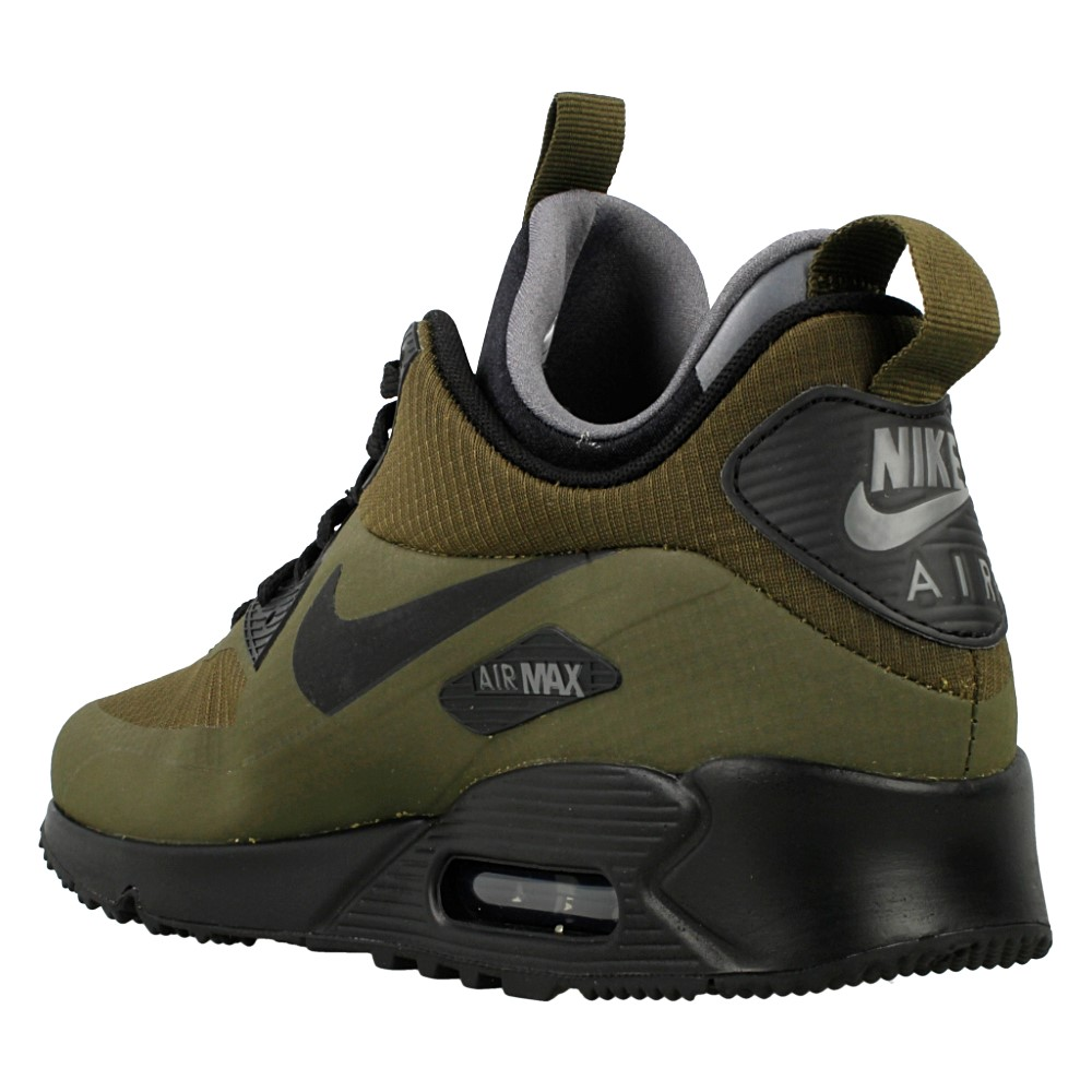 nike air max 90 mid winter 806808 300 zielony. Black Bedroom Furniture Sets. Home Design Ideas