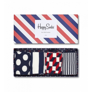 Happy Socks Stripe Socks Gift Box XBDO09-6000